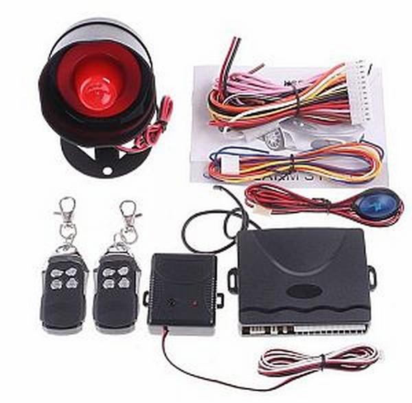 One-Way-Car-Alarm incl. 2 afstandsbedieningen